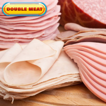 double meat
